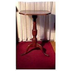 Candlestand American Antique in Cherry