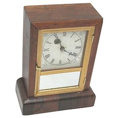 Antique American Mantle Clock Made By Waterbury Clock Co. Completely Restored Mantel Clock