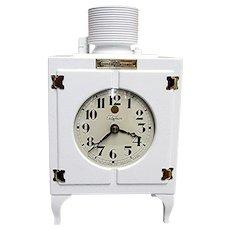 Advertising Mantel Clock General Electric  Monitor Top Refrigerator Mantle Clock