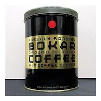 Bokar Advertising Coffee Tin