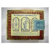 M. Melachrino & Co. Advertising Egyptian Cigarettes Box