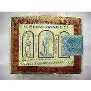 M. Melachrino & Co. Advertising Egyptian Cigarettes Box