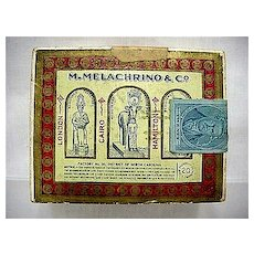M. Melachrino & Co. Advertising Box For Egyptian Cigarettes