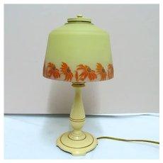 Signed Moe Bridges Table Lamp