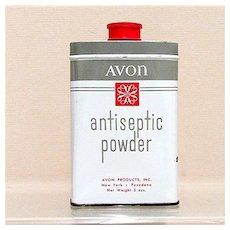 Advertising Tin for Avon Antiseptic Powder