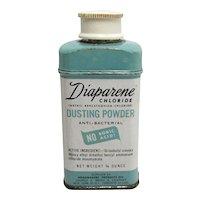 Diaparene Dusting Powder  ¾ ounce Tin Baby Powder
