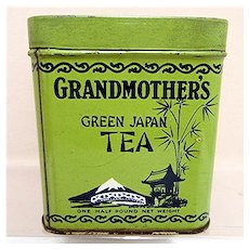 Grandmothers Tea Advertising Tin
