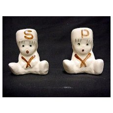Salt and Pepper Set Pair of Drummer Boy Shakers