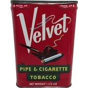 Velvet Pipe and Cigarette Tobacco Pocket Tins $18 each
