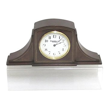 Antique French Clock Duverdrey & Bloquel for Mantel, Desk or Table