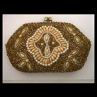 Beaded Purse for Coins or Compact
