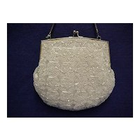 Hand Bag or Purse Beaded