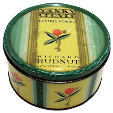 Yanky Clover Theatrical Dusting Powder Tin by Richard Hudnut