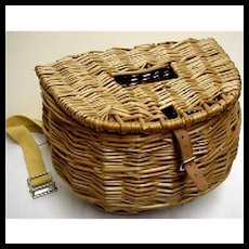 Center Hole Fly Fishing Creel Or Fishing Basket