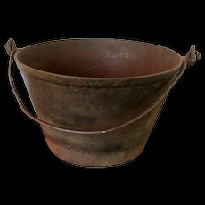 Cast Iron Cooking Kettle or Pail