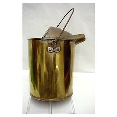 Solid Brass Water Can