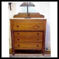 Chest of Drawers Solid Cherry Dresser Antique