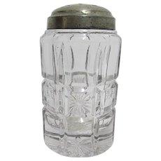SOLD   FEB. 2020  Sugar Shaker Tarentum Glass Co. Verona Pattern Antique American Glass  FEB. SALE ITEM