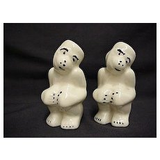 Salt and Pepper Set Monkey Shakers