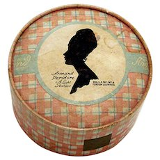 Advertising Ladies Face Powder 1916 Container by Armand