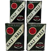 Half and Half Pocket Tobacco Tins $18 each