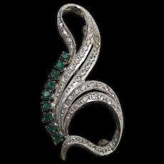Pin or Brooch in Silver Art Nouveau