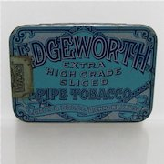 Edgeworth  Pipe Tobacco Flat Pocket Advertising Tin