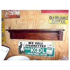 Antique American Pine Wall Shelf