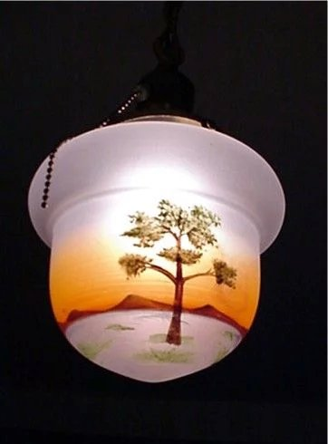 Ceiling Light Fixture Or Pendant Light With Single Drop