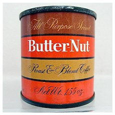 Butternut Coffee Unopened Sample Advertising Tin