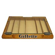 Gillette Razor Counter Top Retail Case