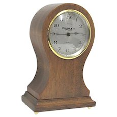 Antique Swiss Balloon Clock Retailed by Spaulding of Chicago