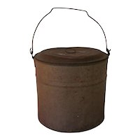 Tin Bucket or Pail