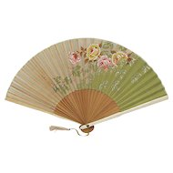 Hand Painted Fan Folding Hand Held