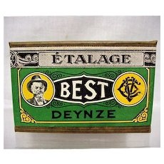 Advertising Best Tobacco Box