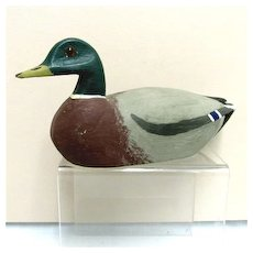 Drake Decoy Miniature