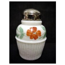 Glass Salt Shaker Antique American Glass Single Salt Shaker