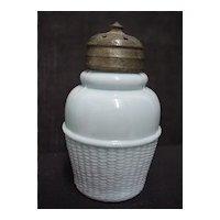Glass Salt Shaker Antique American Glass Circa 1890