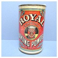 Royal Baking Company Baking Powder Advertising Tin 6 ounce Size