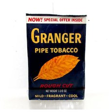 Granger Advertising Tobacco Box Unopened Last One