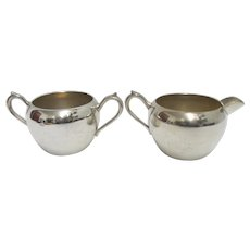 Cream and Sugar Set  F. B. Rogers Silver Co.