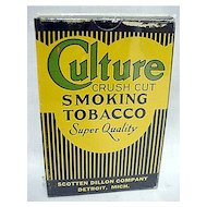 Advertising Culture Tobacco Box MINT Unused
