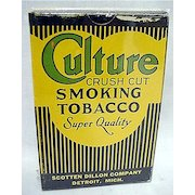 Advertising Culture Tobacco Box MINT Unused