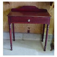 Pine Washstand American Antique