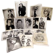 Cape Cod Melody Tent Celebrity Performers 29 Glossy  Photos In Black and White