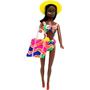 SOLD   Sept.  2021   Barbie Style African American Doll