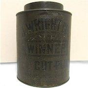 Advertising Tobacco Tin For J. Wright Richmond Va.