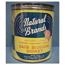 Honey Advertising Tin For Natural Brands