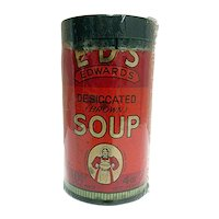 Edwards Soup Advertising Tin
