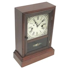 Antique Mantel Clock Made By The Waterbury Clock Company 100% Original Mantle Clock